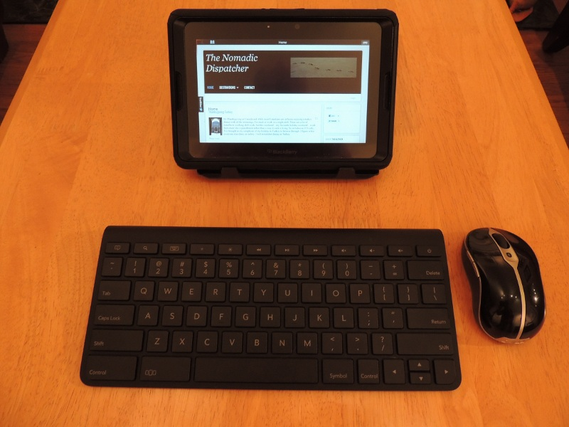 BlackBerry PlayBook Keyboard Mouse