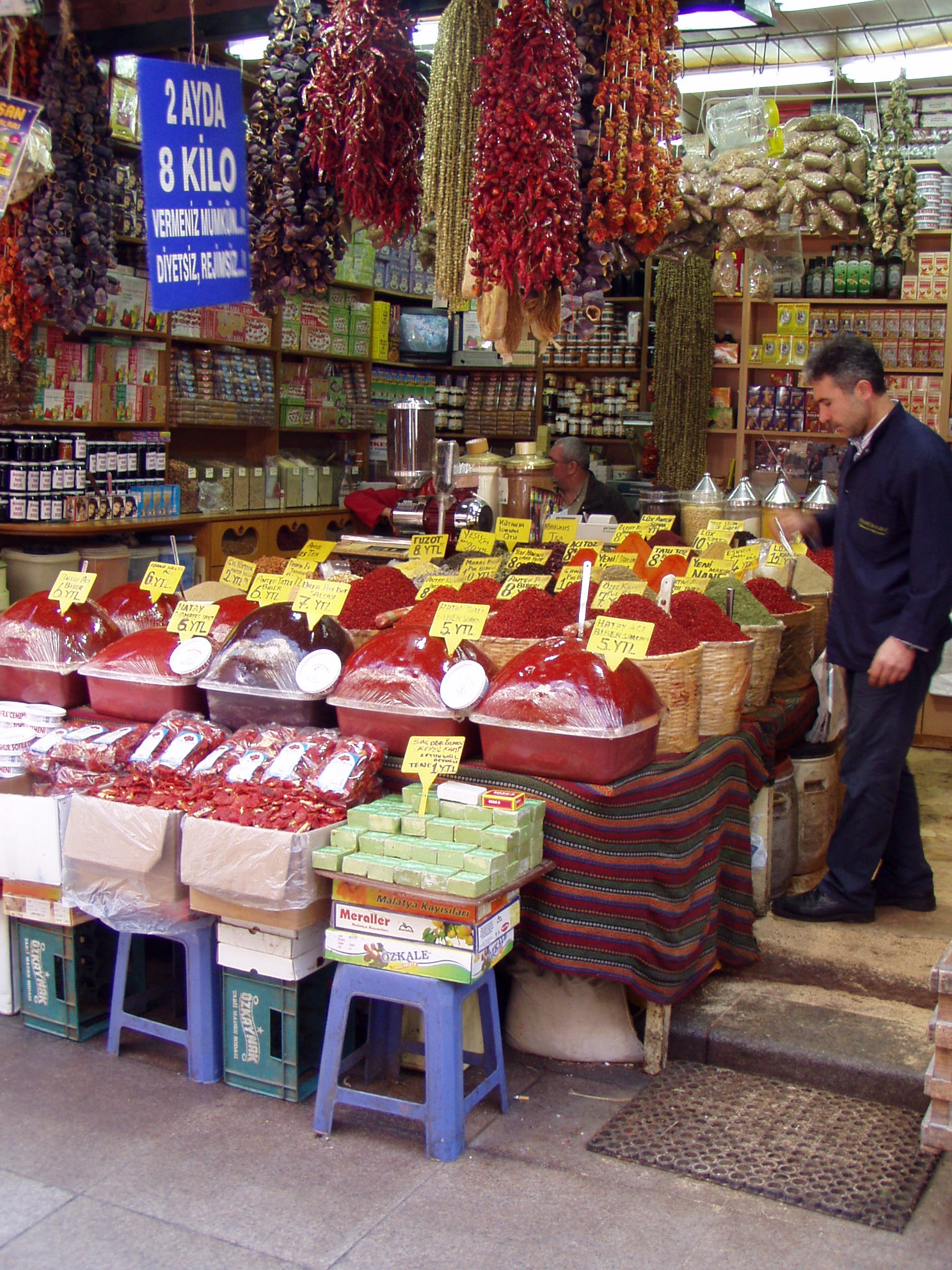 Egyptian Spice Market Istanbul Turkey