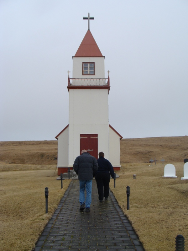 church Grimsey Iceland