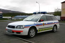 police car Iceland