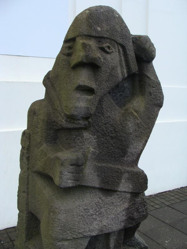 sculpture Reykjavik Iceland