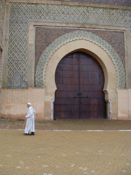doorway Casablanca Morocco