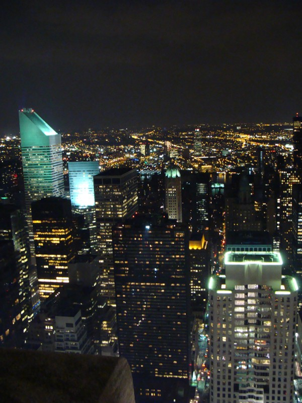Top Of The Rock Night View