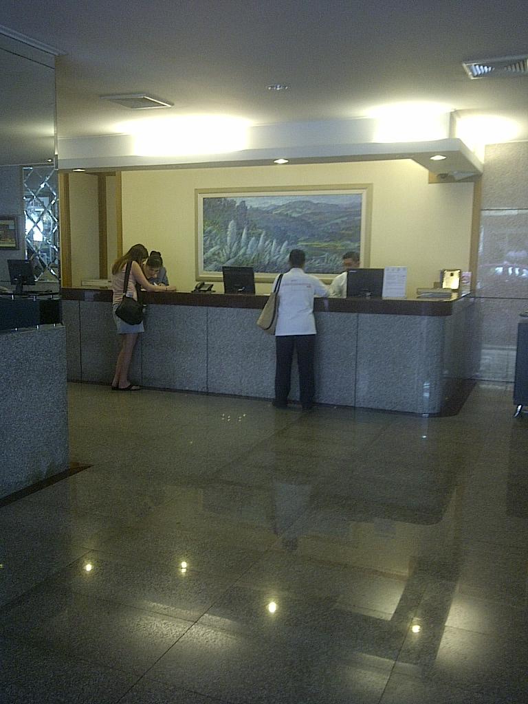 Viengtai Hotel lobby Bangkok Thailand