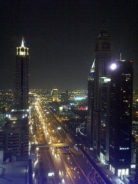Sheikh Zayed Road Dubai UAE