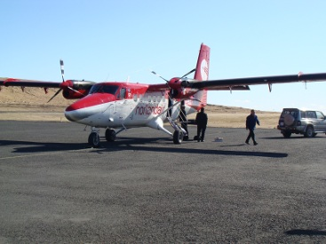 Grimsey Iceland Airplane