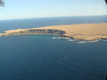 Grimsey Iceland from the air