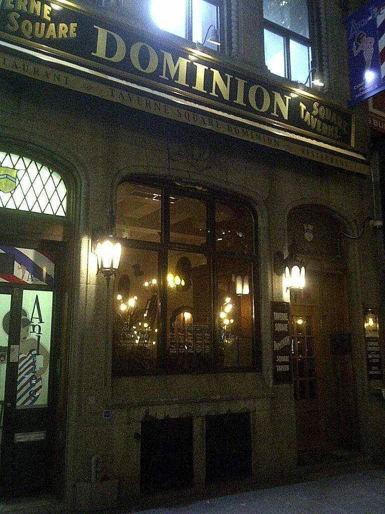 Dominion Square Tavern Montreal Quebec