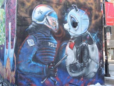 graffiti Montreal Quebec