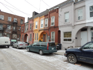 Kensington Market houses