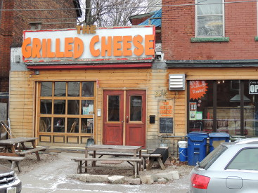 Kensington Market grilled cheese