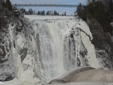 Montmorency Falls Winter