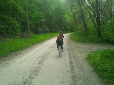 Pelee Island biking