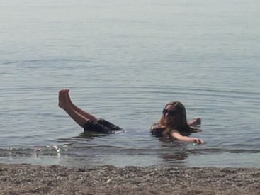 Swimming Lake Erie