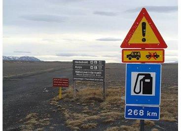 GasUp Iceland Interior Roads