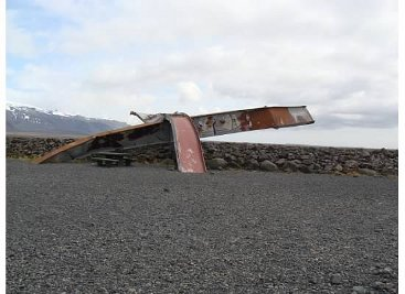 Glacier Flood Damage Iceland RingRoad