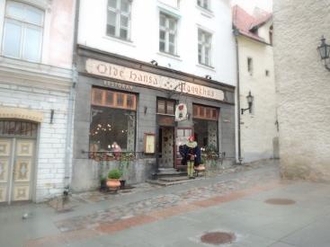 OldeHansaRestaurantMedievalTallinnEstonia