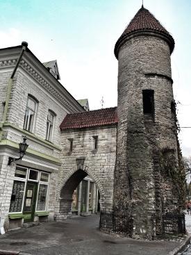 TallinnEstoniaOldCityWall