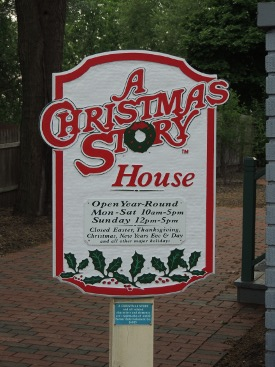 ChristmasStoryHouseClevelandSign
